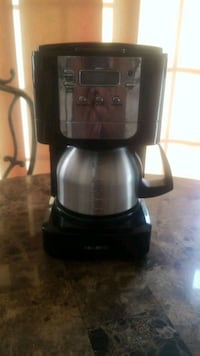 black and gray Hamilton Beach coffeemaker Occoquan, 22125
