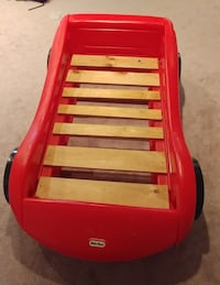 Race car toddler bed 66 km
