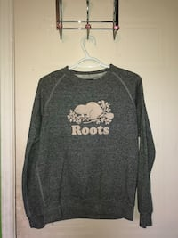 gray and white crew-neck long-sleeved shirt Port Hope, L0A 3V5