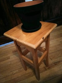 Brown Wooden Side Table Cicero