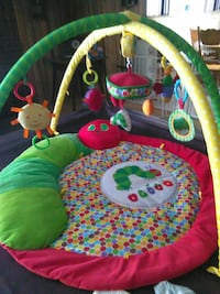 Very hungry caterpillar baby gym