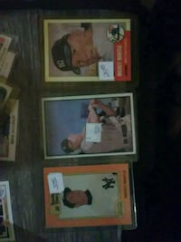 3 Mantle cards