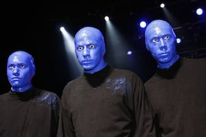 Blue Man Group Show for 2 Jan 31 8PM