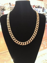 gold-colored chain necklace Brampton, L6Y 1N7