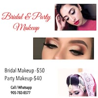 Wedding makeup Toronto