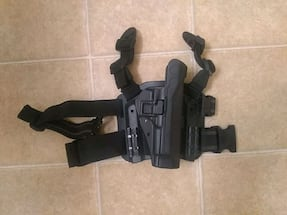 Blackhawk c1370 tactical pistol holster