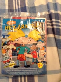 Hey Arnold and rare Wendy's toy