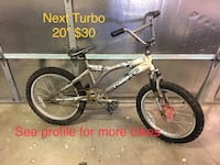 "Next Turbo 20"" $30 Rancho Cordova"