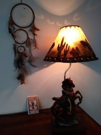 Kids Cowboy/Indian Room-Lamp, light plate & more MONTREAL