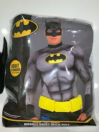 Batman Muscle Shirt With Belt and Mask Surrey, V3Z 0W4