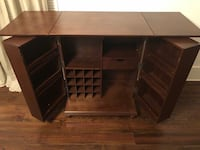 Preowned: Bar Cabinet with Wine + Glass Storage New Orleans, 70115