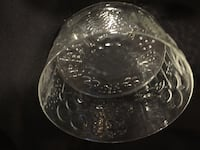 "Vintage Iittala Arabia Flora 7 1/2"" Serve Bowl Finland Oiva Toikka Art Glass GAITHERSBURG"