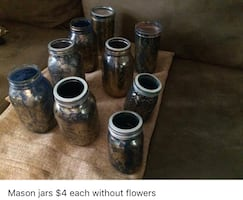 Rustic Bridal Shower Decor  **price is negotiable $2 each**