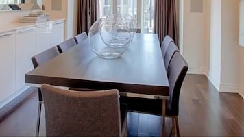 9 piece dining table and 8 chairs