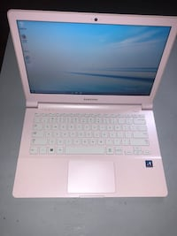 Pink Samsung laptop x4 quad core