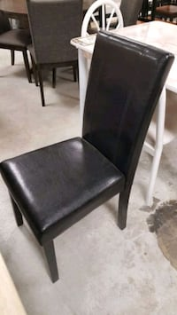 Brand New Espresso Faux Leather Dining Chair (12 Available)  Silver Spring, 20902