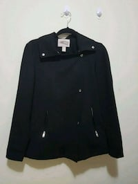 F21 Black Jacket with Button Detail Toronto, M2R 1Y9