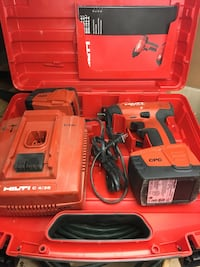 """Hilti impact gun 14.4 volt 1/2"""" drive with 2 batteries, charger, and carrying case Las Vegas, 89178"""