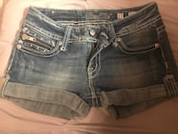 Miss Me Denim Shorts Size 27 Angel Wings Lincoln, 68506