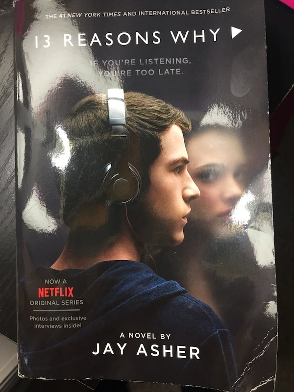 Used 13 Reasons Why Paperback Book For Sale In Lansing Letgo