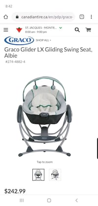 Graco swing / Balançoire Graco