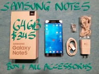 AMAZINING Samsung NOTE5 64GB MintCond10/10+allAcc