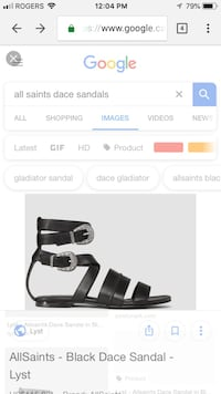 All saints sandals size 7.5 BNIB Toronto, M5V 0A9