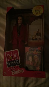 Rosie O'Donnell doll autographed