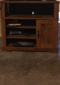 brown wooden TV stand with flat screen television Diamondhead, 39525
