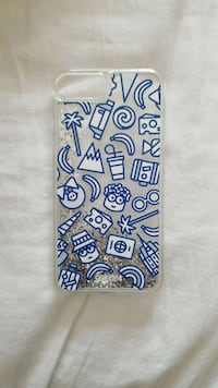 white and blue floral iPhone case Markham, L3T 7H9