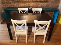 Dinner Table Set with Chairs 44 km