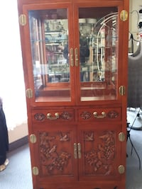 Heavily Carved Oriental Cabinet Windsor, N9A 1R3