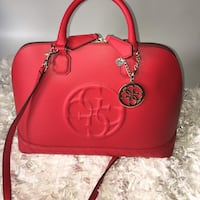 Red GUESS purse Odessa, 79766