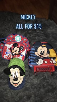 Mickey Mouse and Minnie Mouse print backpacks Gardena, 90249