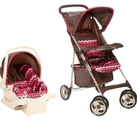 Carseat and stroller 382 mi
