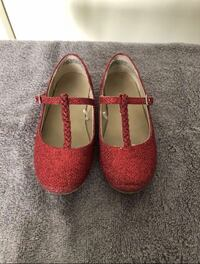Little girl red dress shoes size 10 Chula Vista, 91911