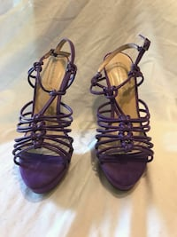 Purple strappies heels Worcester, 01610