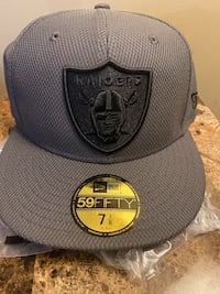 Raiders fitted hat
