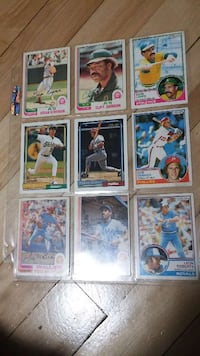 9 baseball trading card game Mount Royal, H4T 1B1