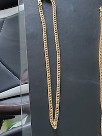 10k gold cuban modern miami link chain 56 grams   Mississauga, L4Y