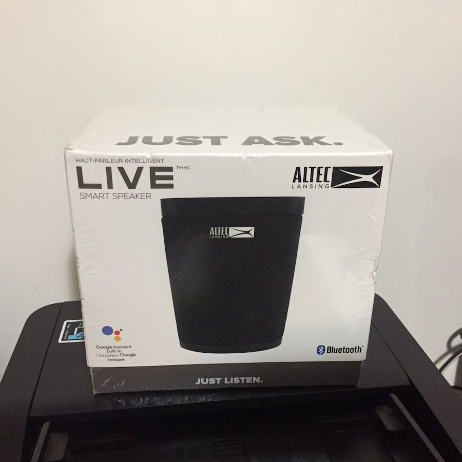 Altec Lansing Bluetooth Wireless Speaker (New)