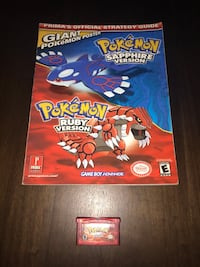 Pokémon Ruby with New Save Battery and Strategy Guide! Toronto, M9A 0B7