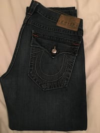 "Men's True Religion jeans size 37 length 43"" Toronto, M5N 1C5"