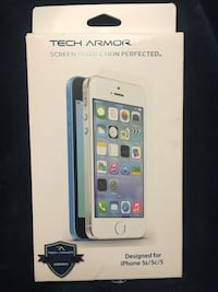 Tech Armor screen protection iPhone 5/5S/5C London, N5V