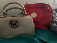 Brown michael kors leather handbag Fort Washington, 20744