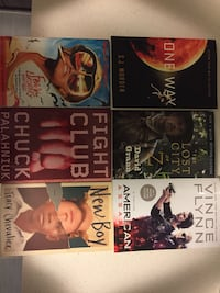 6 books for $30! Whitby, L1N 9G4