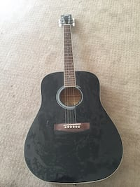 black dreadnought acoustic guitar Aldie, 20105