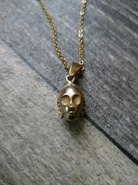 C3P0 GOLD Stainless Steel Head Unisex Necklace Las Vegas, 89119