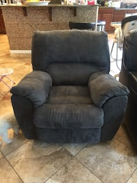black fabric recliner sofa chair Las Vegas, 89131