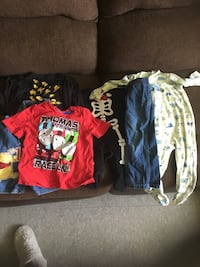 Little boys clothes and some girls also  592 km